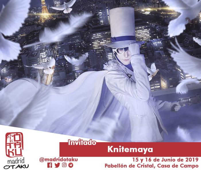Kniteyama invitado al Madrid Otaku 2019